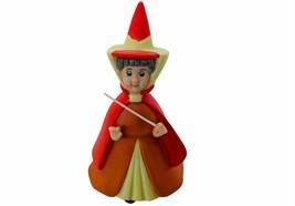Flora Sleeping Beauty Fairy figurine vtg ceramic Walt Disney Aurora Maleficent - $72.57