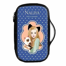 Fashion Waterproof Travel Makeup Case Cosmetic Bag Sundry/Toiletry, Cat Girl