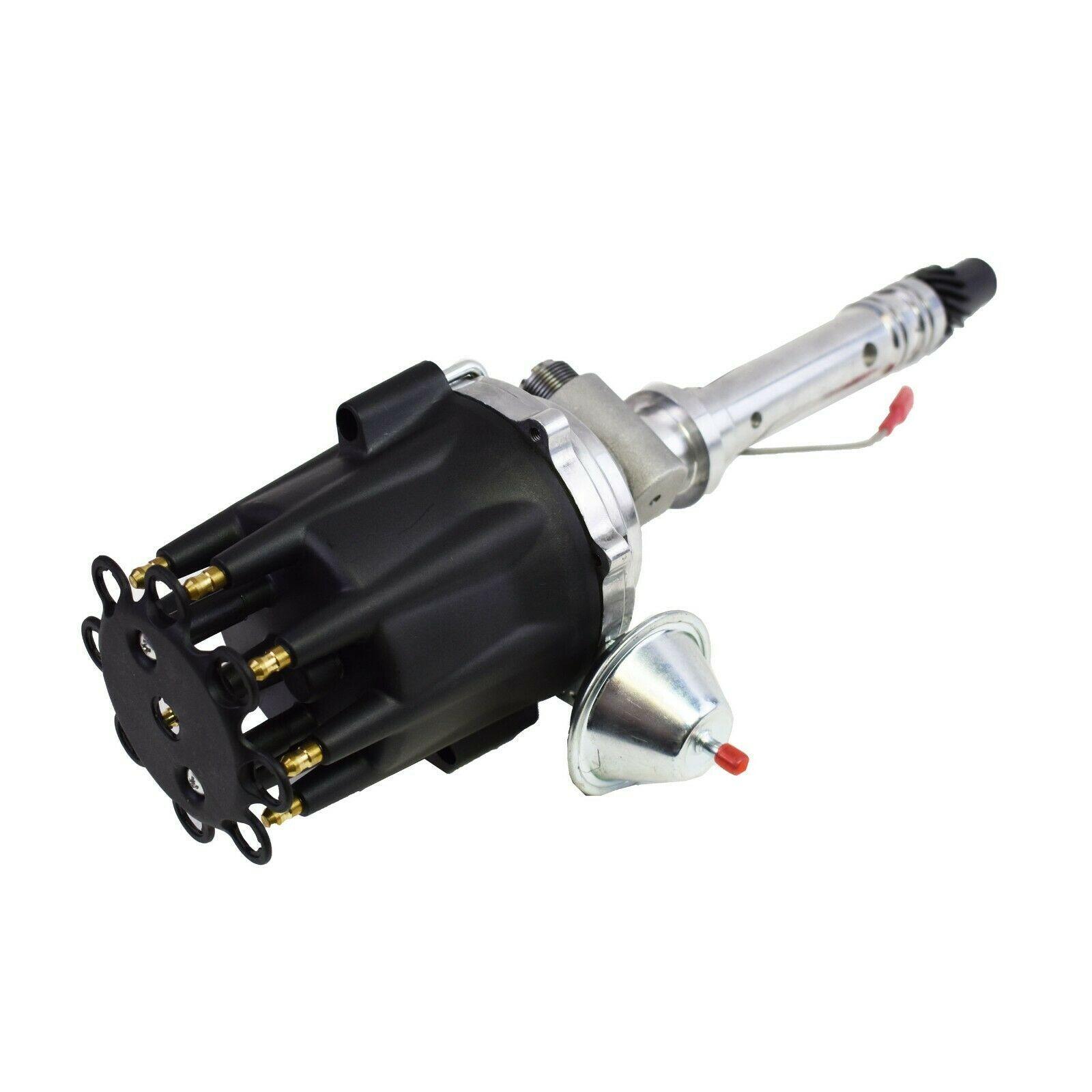 Pro Series R2R Tach Drive Distributor Corvette SBC BBC 327 350 396 427 454 Black