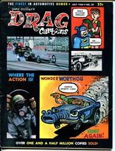 Drag Cartoons #29 1966-Batman-Robin-Wonder Warthog-Archie-FN- - $56.75