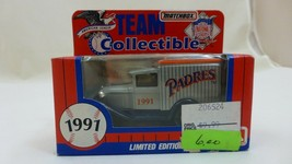 1991 Matchbox MLB Team Collectible Diecast Limited Edition SAN DIEGO PADRES - $4.77