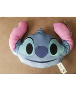Disney Emoji Stitch Plush Pillow Smiley Face Laugh Happy NWT 16 inches a... - $9.99