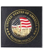 American Flag, US Capitol, White House, Washington Monument, National Ma... - $11.99