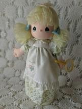 "Enesco Precious Moments Four Seasons 12"" Musical Doll Plays Sunshine - $14.54"