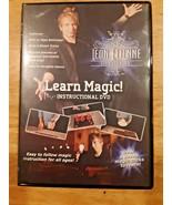 Illusionist Leo Etienne Learn Magic DVD  Secrets revealed autographed - $9.89