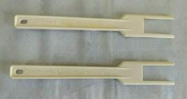 Cuisinart Pro Custom 11 DLC-8S Lot of 2 Fork Spatula Replacement Part - $12.16