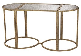 """42"""" Horchow Style Gold & Mirror Hollywood Regen... - $344.52"""