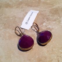 beautiful susan graver dangling pierced earrings - $19.99