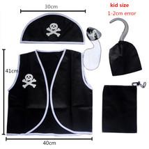 TPDT* kids size Adult Men Women Pirate Costume Halloween cosplay skull e... - £11.03 GBP