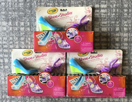 Crayola Shoe Studio ~ Craft Create Your Own Shoes (Ribbon, gems, stickers) NEW - $27.27