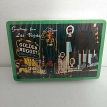Vintage NOS Sealed Las Vegas Playing Cards Golden Nugget Old Vegas Rare ... - $27.04