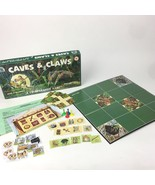 Caves and Claws Vintage Board Game Co-Operative Game 1998 Jim Deacove 1-... - $23.36