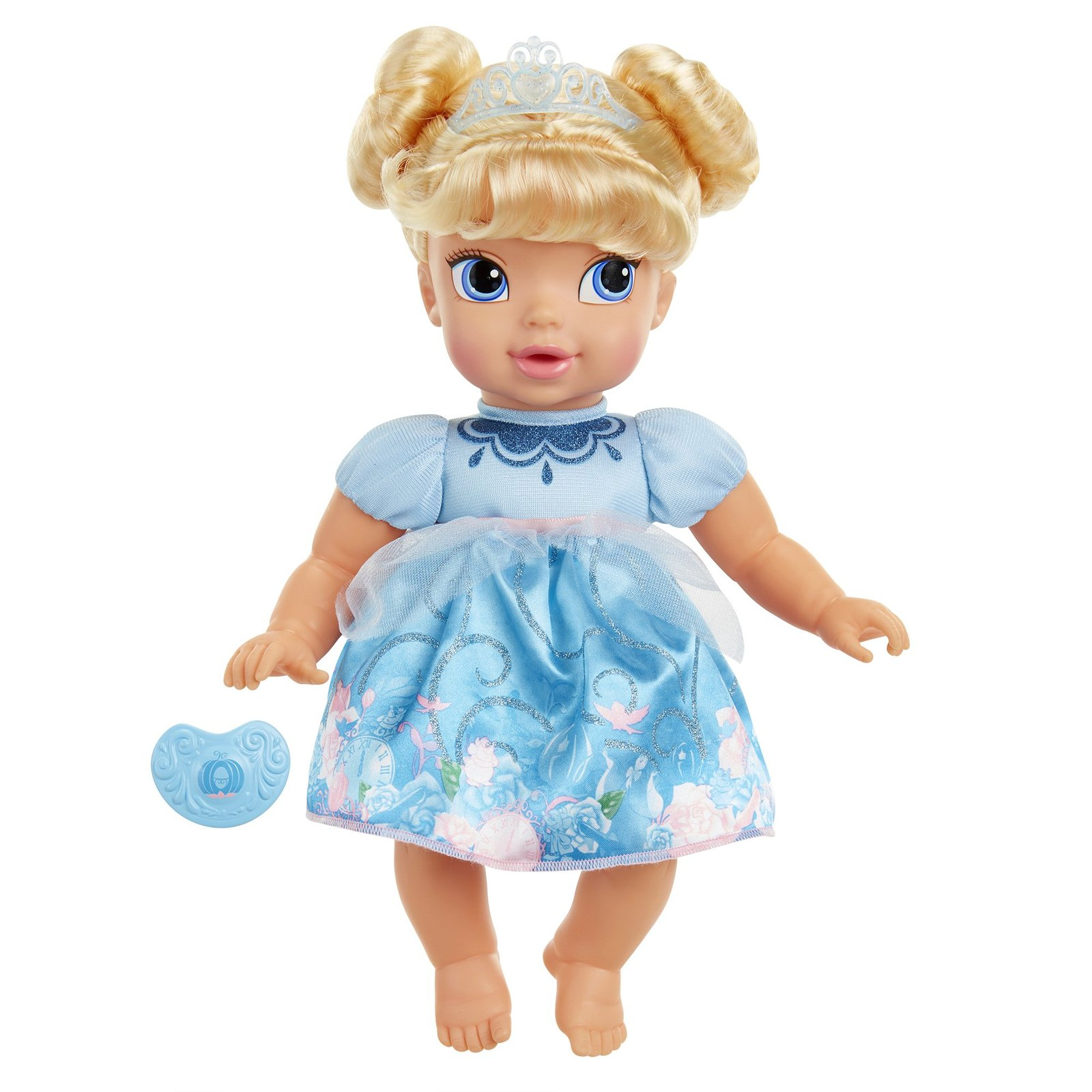Disney Princess Deluxe Baby Cinderella Doll With Pacifier