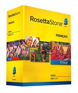 Learn French: Rosetta Stone French - Level 1-2 Set Version 4 - $29.99