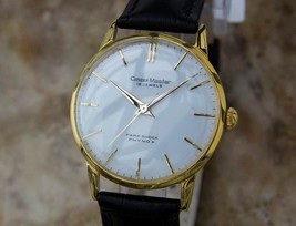Citizen Master 1960s Manual Gold Plated Made in Japan Men's Vintage Watc... - $736.68