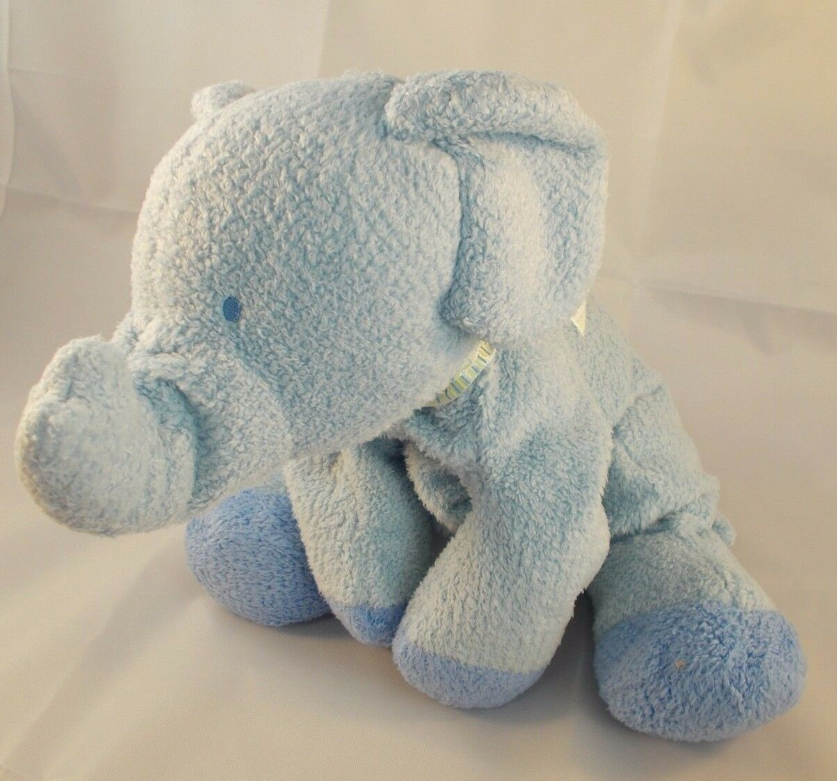 "Primary image for Carter's Child of Mine Bean Elephant Plush Floppy 12"" Long Stuffed Animal toy"