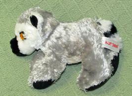 "Aurora World Mini Flopsie 6"" Baby Lemur B EAN Bag Stuffed Animal Grey Black White - $9.90"