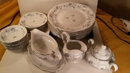 Vintage Blue Garland Porcelain Dinner Service Johann Haviland Germany - $6.85+
