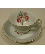 Noritake 5049 Vintage Tea Cup & Saucer 5 1/2in ... - $32.09