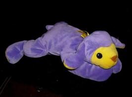 Ty 1998 Soft Baby Baba Purple Lamb Stuffed Animal Plush Pillow Pal Toy Retired - $12.65