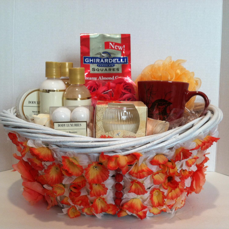 Wedding Day Gift Basket : Mothers Day Gift, Wedding , Birthday Spa Gift Basket Dorothy~Vera Mae ...
