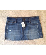 Abercrombie & Fitch Womens Distressed Blue Jean... - $7.99