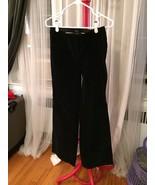 Body By Victoria Black Velvet Chtistie Fit Boot... - $9.99