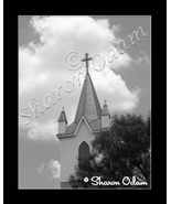 Church Steeple - BH0025BW - Fine Art Photography - $17.50