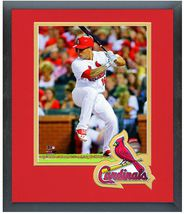Kolten Wong 2014 St. Louis Cardinals - 11 x 14 Team Logo Matted/Framed Photo - $42.95