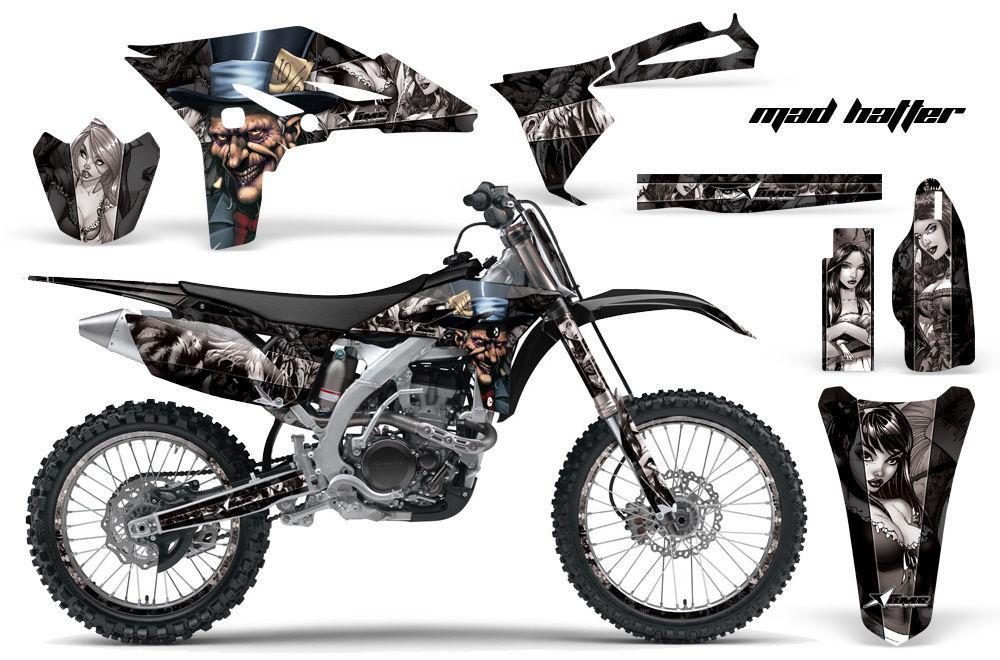 amr racing dirt bike number plate decal wrap kit yamaha yz 250 f yzf 10-12 mhkss
