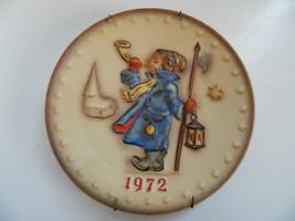 1972 Hummel Annual Plate w\Original Paper - $14.99