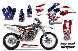 Amr Racing Mx Dirt Bike Decal Flag Sticker Graphic Yamaha Wr 250/450 F 07 11 Sas - $169.95