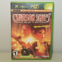Crimson Skies High Road to Revenge Xbox Video Game 2003 Rated T Teen - $6.99