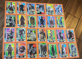 2016 Daily Mail Topps Force Attax Star Wars Promo Scheda Foglio Set di 30 BB-8 - $59.39