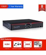 CANAVIS 8 Channel Hybrid 5-in-1 Standalone DVR CCTV Security Surveillanc... - $54.10