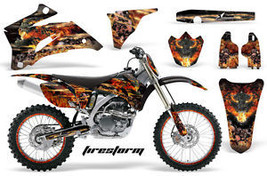 Amr Racing Sticker Number Plate Graphic Decal Yamaha Yz450 F Yz Yz250 F 06 09 Fk - $279.85