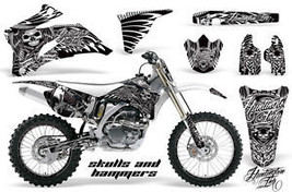 Amr Racing Sticker Number Plate Graphic Decal Yamaha Yz450 F Yz Yz250 F 06 09 Hshw - $279.85