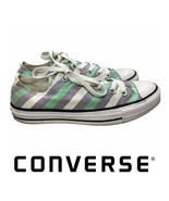 Converse Chuck Taylor All Star Low Top Sneakers Trainers 8 Purple Green ... - $21.15