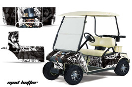 CLUB CAR GOLF CART PARTS GRAPHIC KIT WRAP AMR RACING DECALS ACCESSORIES ... - $294.97