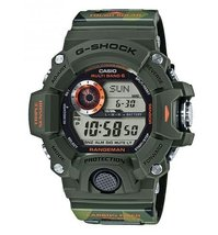 Casio G-Shock Men in Camouflage Digital Resin Quartz Men's Watch GW-9400CMJ-3 - $484.03