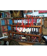 Smoking pipes w/Lot Oak Holder 48 Old Pipes - $749 (Atlanta) - $749.00