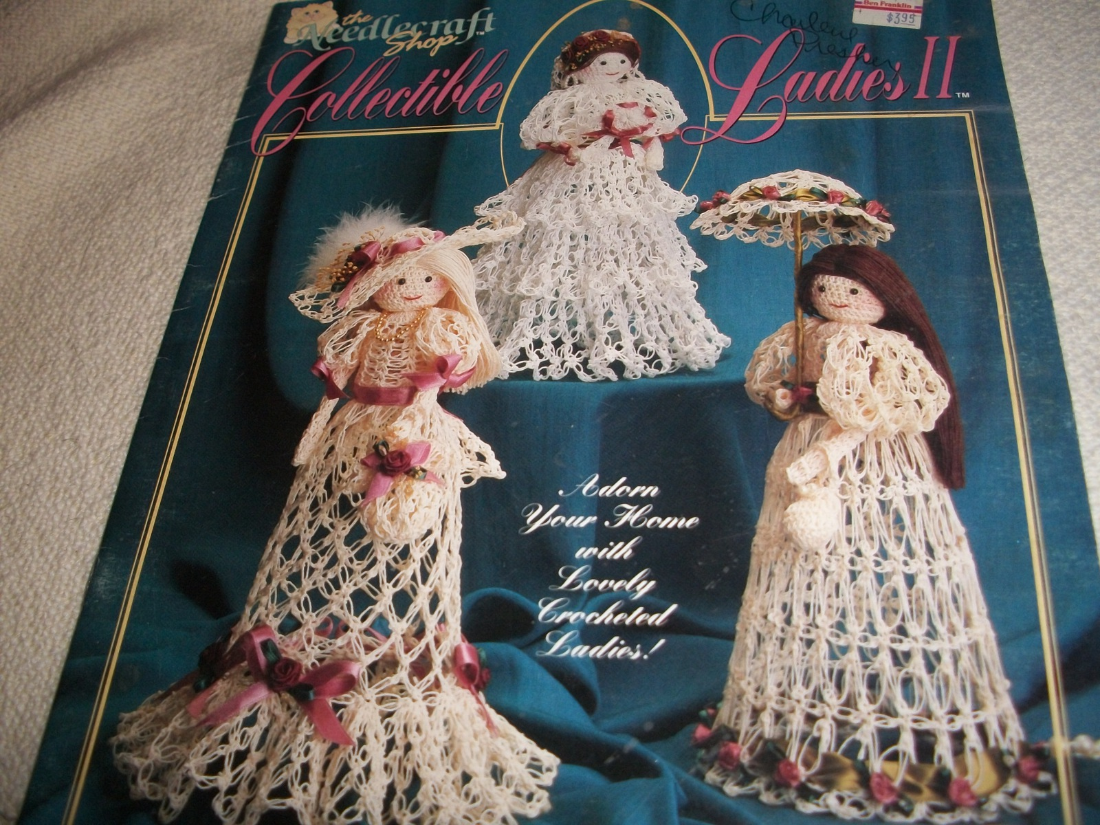 Crochet Dolls Pattern 2 - $5.00
