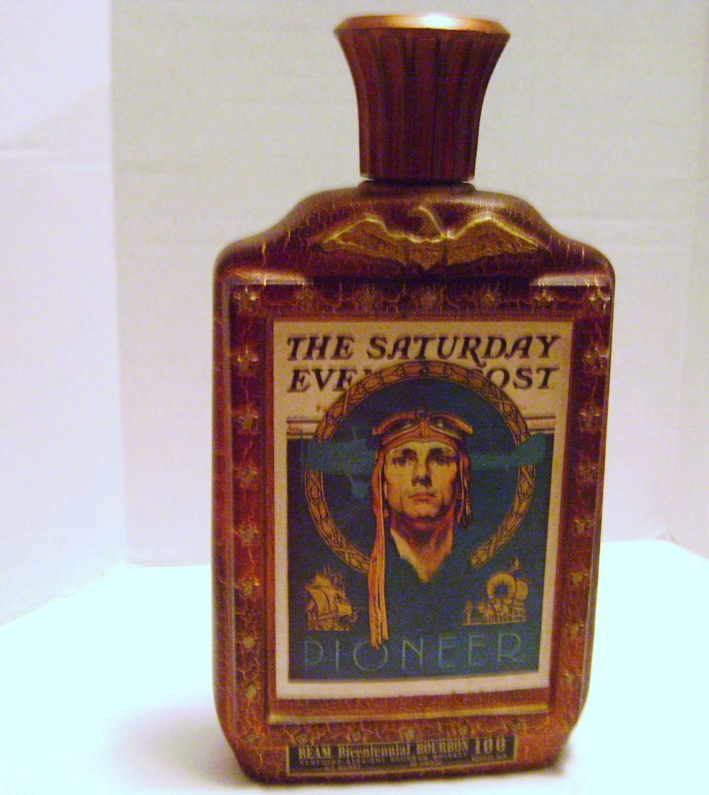 Jim Beam Collectible Decanter The Saturdayevening Post
