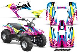 Yamaha Breeze 125 Graphics Sticker Kit AMR Racing ATV Quad Decal 89-07 F... - $169.95