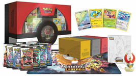 Pokemon Shining Legends Super Premium Ho-Oh Collection Booster Set Box Promos - $97.99