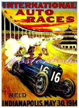 International Auto Races, Indianapolis May 30th... - $19.95