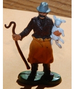 Britains Ltd Miniature Shepherd with Crook and Lamb - $5.00