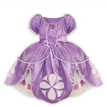 Disney Store Princess SOFIA THE FIRST DRESS Gown Sophia Costume 7-8 - $54.99