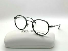Calvin Klein Ck 18107 071 Smoke Tortoise Eyeglasses Frames 47-22-140M/CASE - $43.62