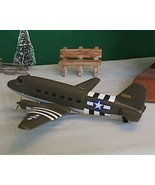 D Day C 47 Paratroop Transport Plane Model Liberty Classics - $39.95